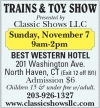 Trains & Toy Show