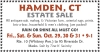 Hamden, Ct Estate Sale Sale by Tina H. Swirsky