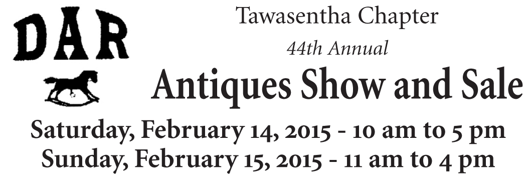 DAR 44th Annual Antiques Show and Sale