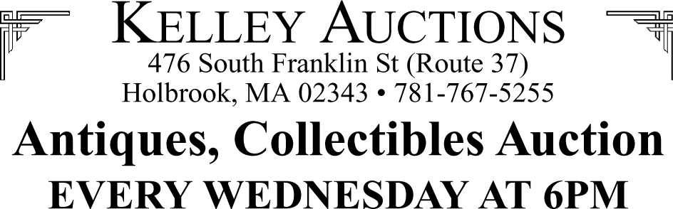 Kelley Auctions EVERY WEDNESDAY
