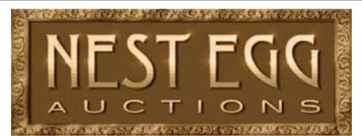 MONDAY NIGHT AUCTION AT NEST EGG