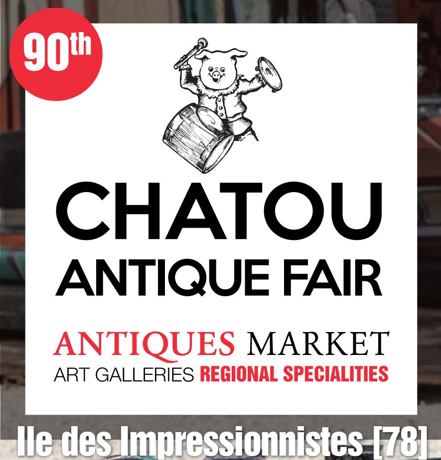 CHATOU ANTIQUE FAIR 90th ANTIQUES MARKET