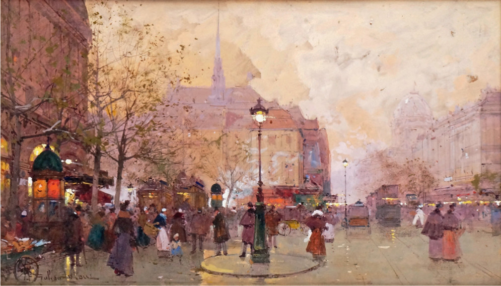 Eric Pillon Encheres 19th CENTURY, IMPRESSIONIST, POST-IMPRESSIONIST AND MODERN PAINTINGS