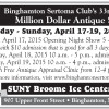 Binghamton Sertoma Club's 33rd Annual Million Dollar Antique Show
