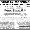 Ingrham SUNDAY MORNING WALK AROUND AUCTION