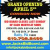 Jack's Bid Board