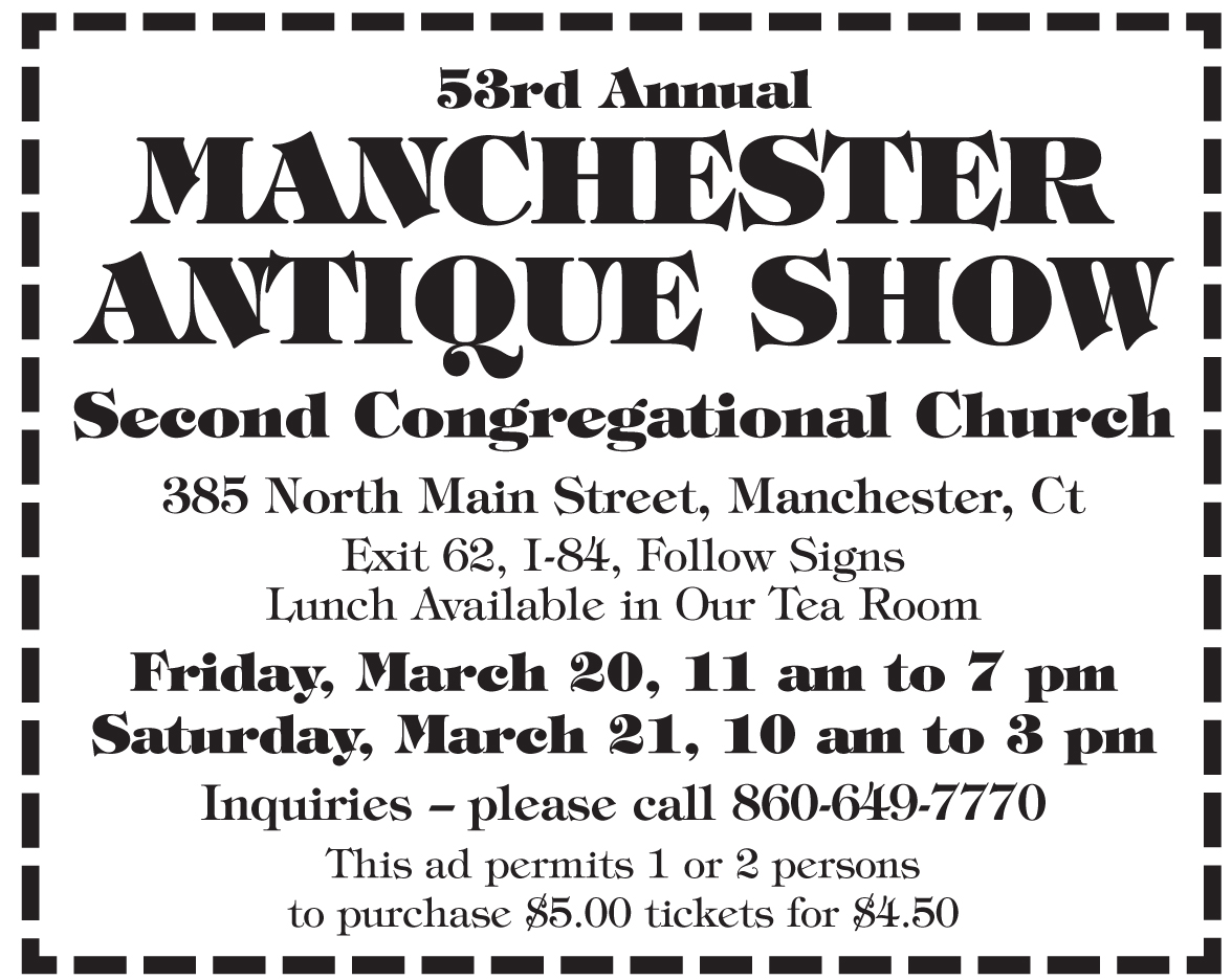 53rd Annual MANCHESTER ANTIQUE SHOW