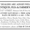 PS 183 ANTIQUES, FLEA & FARMER'S MARKET
