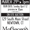 Salvage Alley Palm Sunday Auction