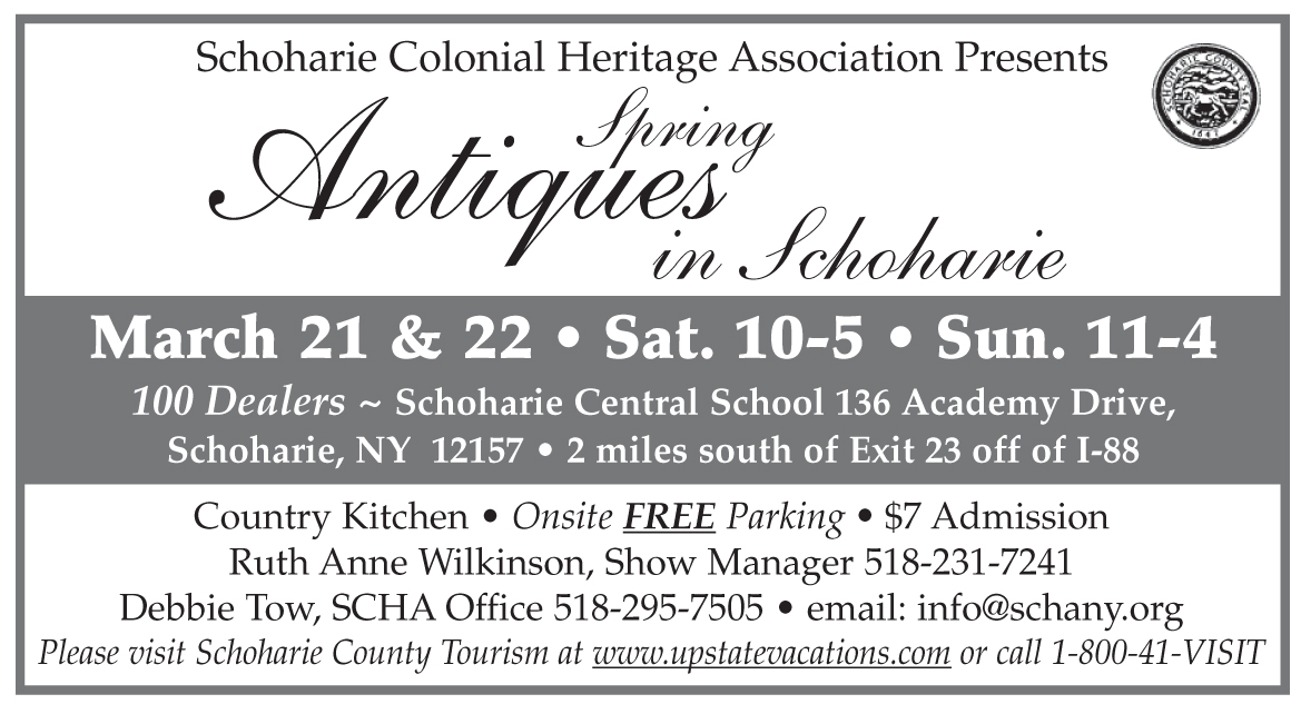 Spring Antiques In Schoharie