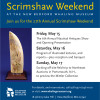 Join us for the 27th Annual Scrimshaw Weekend