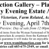 Smith's Tuesday Evening Estate Auction