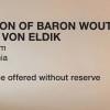 Bonhams The Collection of Baron Wouter J.P. Sijlmans Von Eldik