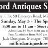 Milford Antiques Shows