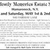 Mamaroneck, N.Y. Estate Sale by A Mostly Memories