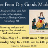 The Penn Dry Goods Market An Antiques Show and Sale