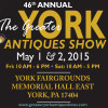 46th ANNUAL The Greater York Antiques Show May 1-2