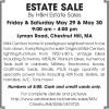 Chestnut Hill, MA ESTATE SALE By H&H Estate Sales