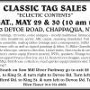 Chappaqua NY Tag Sale by CLASSIC TAG SALES