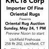 KRC18 Corp Oriental Rug Auction
