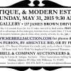 Duane Merrill VINTAGE, ANTIQUE, & MODERN ESTATE AUCTION