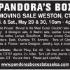 WESTON, CT Moving Sale by Pandora's Box