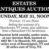 Seifert Estates Antiques Auction