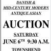 Townshend Auctions EXTREMELY HIGH QUALITY DANISH & MID-CENTURY MODERN ANTIQUE ASIAN AUCTION