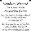 Historic Velvet Mill Antique/Flea Market