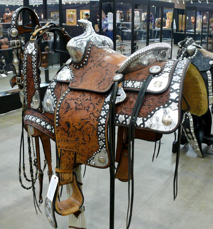 Edward H. Bohlin silver mounted show saddle:  $85,000