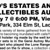 DAVID'S ESTATES ANTIQUE & COLLECTIBLES AUCTION