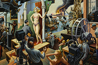 American Epics: Thomas Hart Benton And Hollywood At Peabody Essey Museum