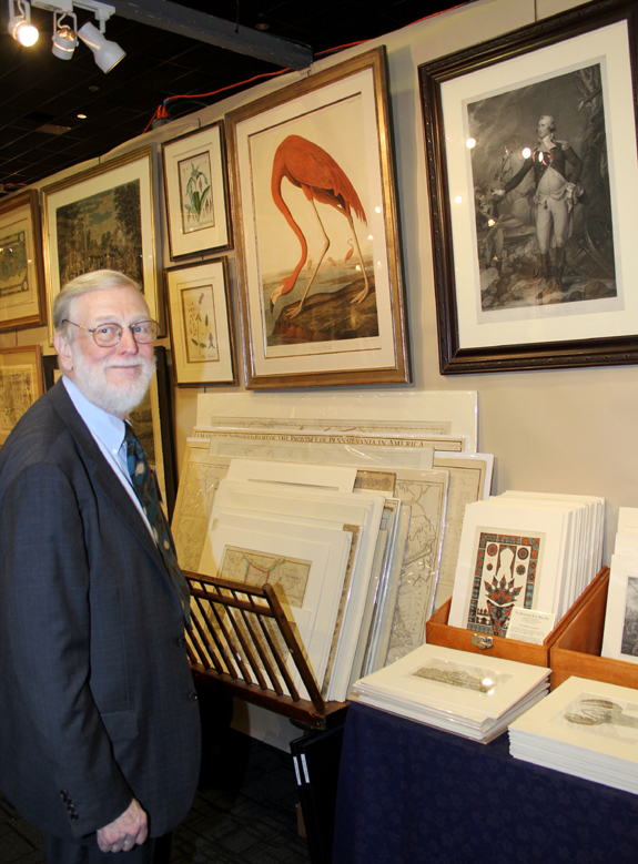 A loan show of the Museum of the American Revolution's Washington collection prompted Don Cresswell of the Philadelphia Print Shop to display related material.