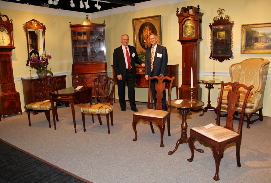 Todd and Craig Prickett, C.L. Prickett Antiques, Yardley, Penn.