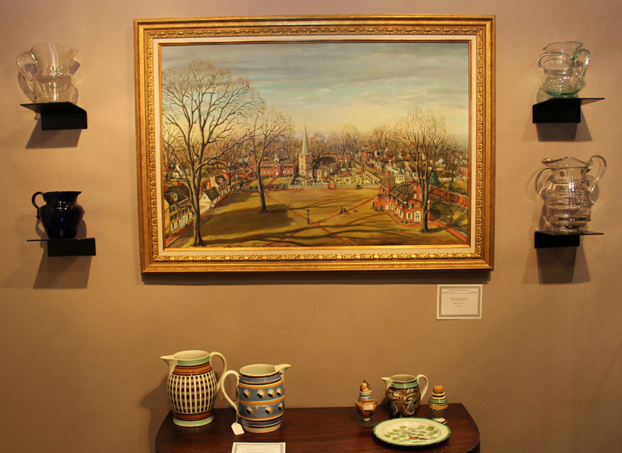 """In Old New Castle on the Green"" by Frank H. Jefferis, a nice buy at John Chaski, Camden, Del."