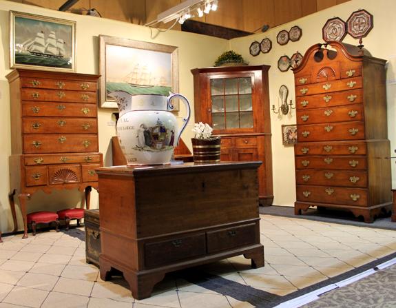 Diana Bittel Antiques, Bryn Mawr, Penn.