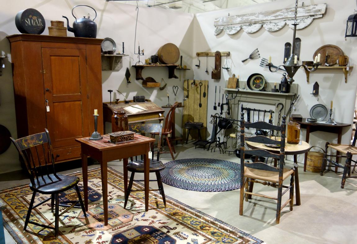 Stephen C. Burkhardt Antiques / Groundhog Hollow Antiques, Felton, Penn.