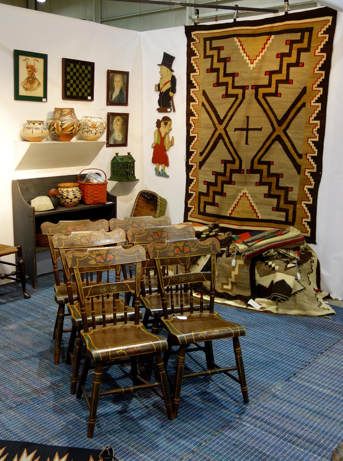 Steve Smoot Antiques & Navajo Textiles, Lancaster, Penn.