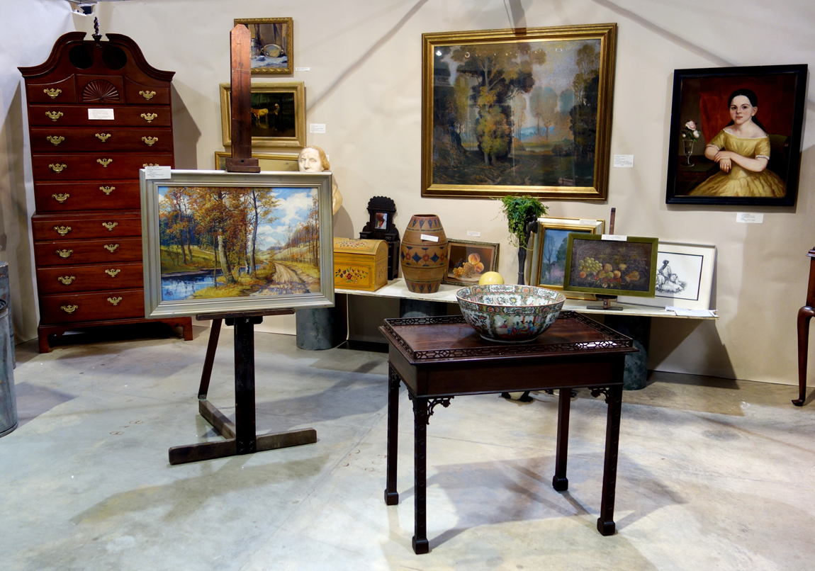 Thomas Brown Antiques, McMurray, Penn.