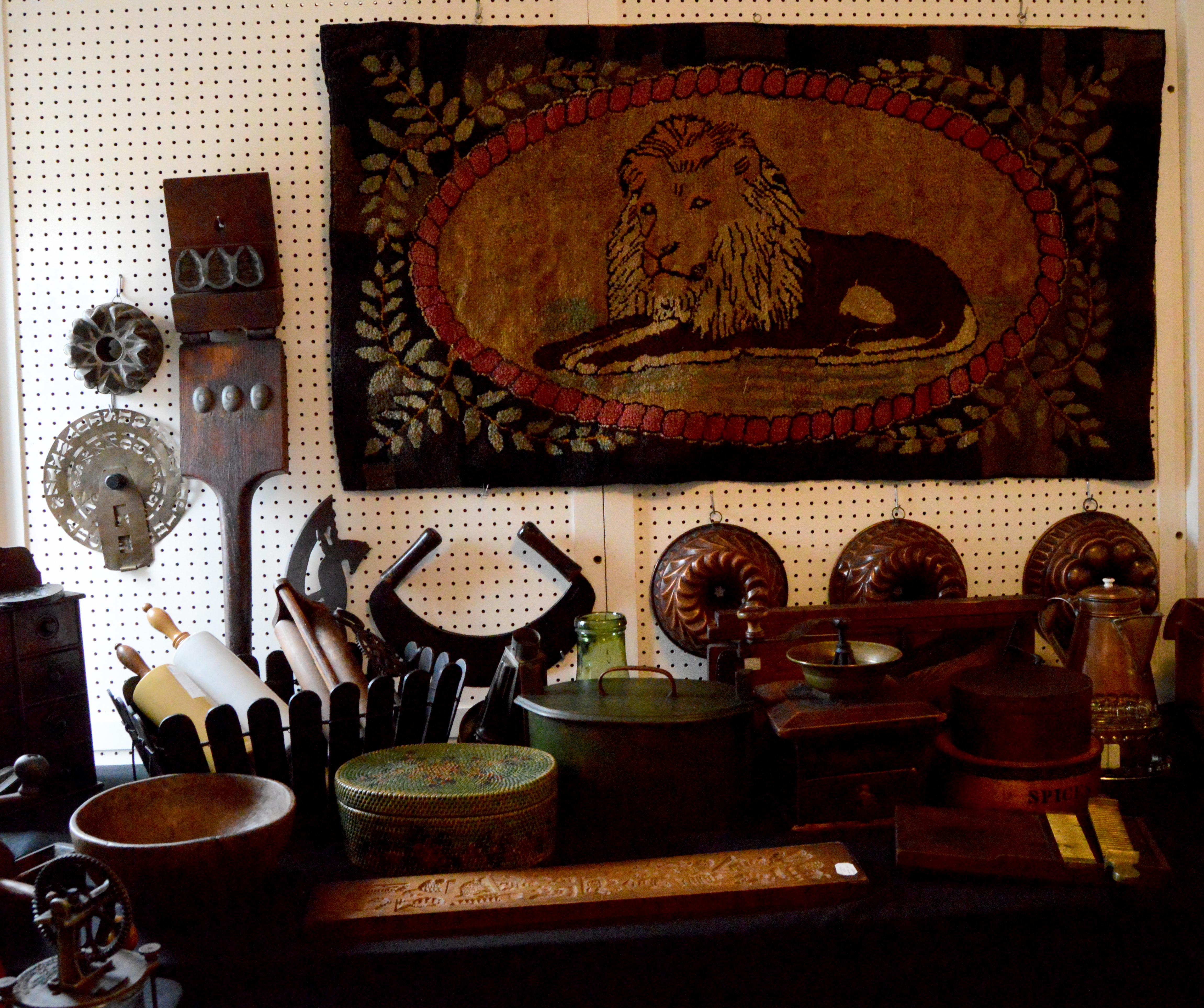 Ina Levy Antiques, Brooklyn, N.Y.