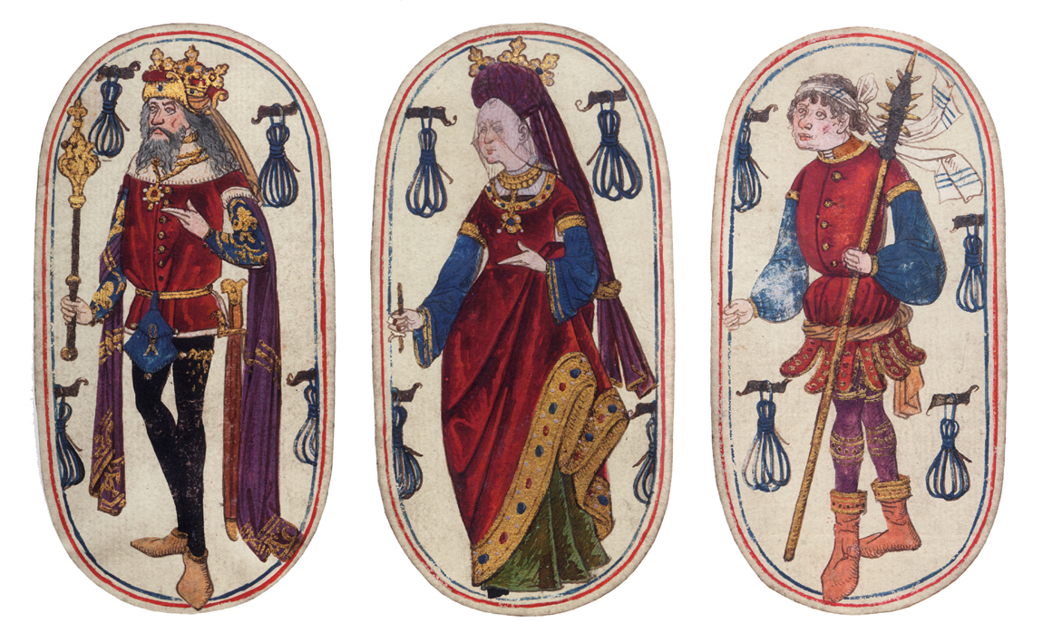 luxury playing cards of the middle ages