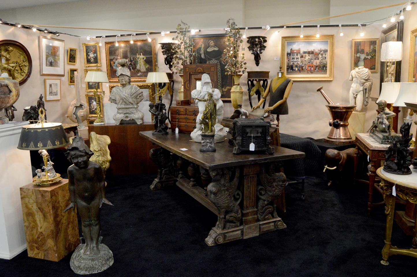 Bruce D. Horton Antiques, Bridgeport, Penn.