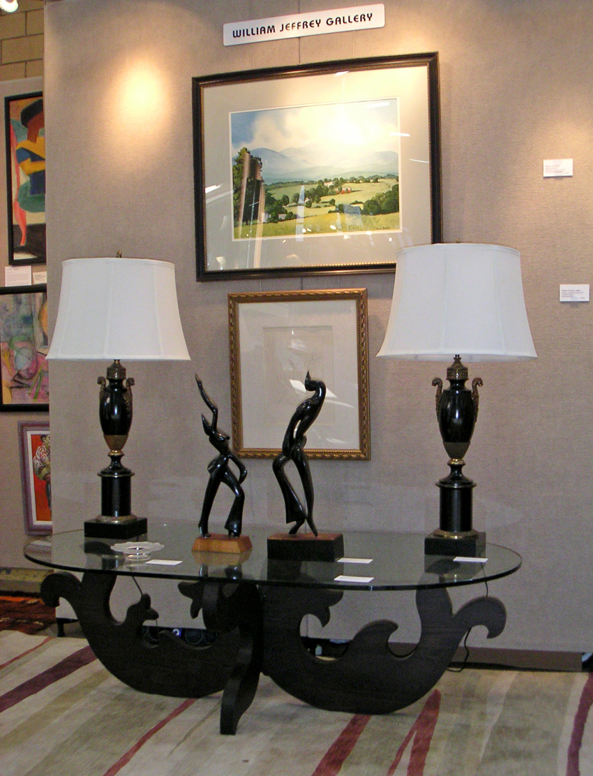 Dealers applaud turnout sales at morristown armory antiques show a central piece at the booth of william jeffrey gallery florham park nj was this sculptural wood base coffee table by eva zeisel hungarian geotapseo Image collections