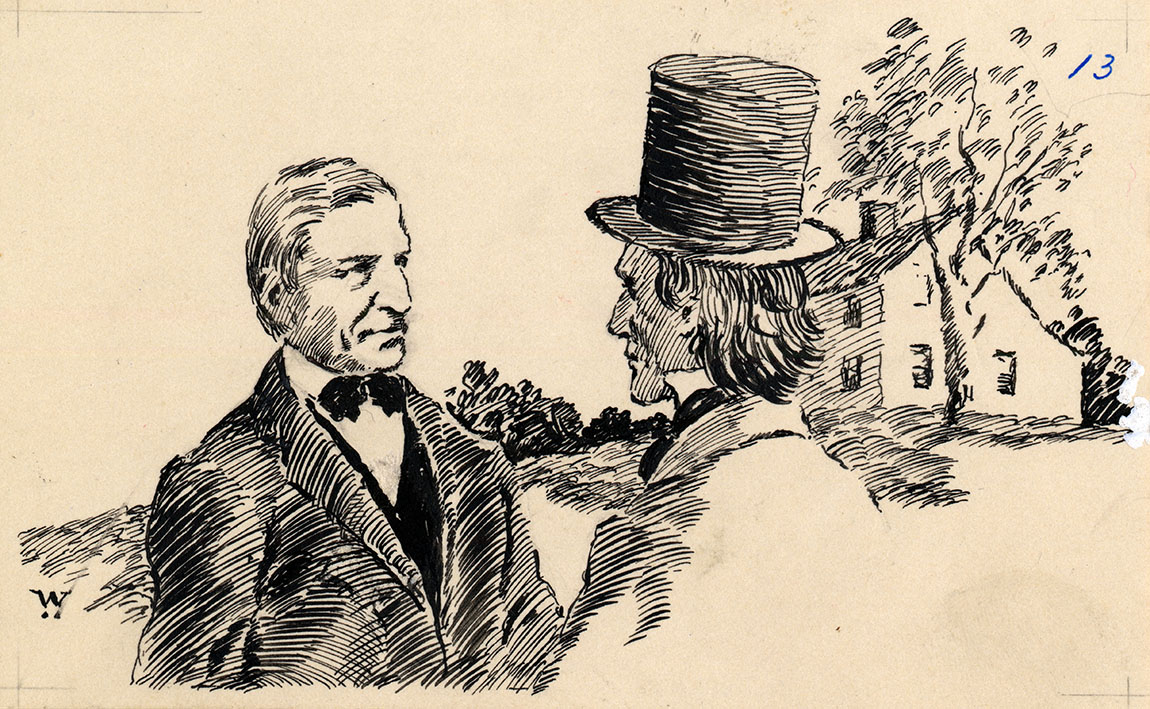 essay on emerson and thoreau
