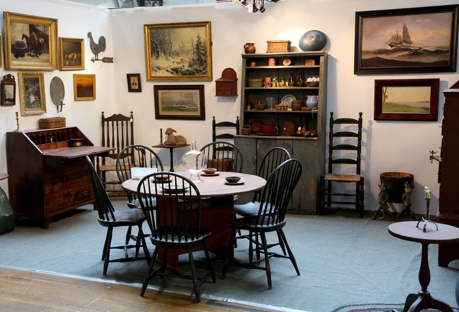 Derik Pulito Antiques, Kensington, Conn.