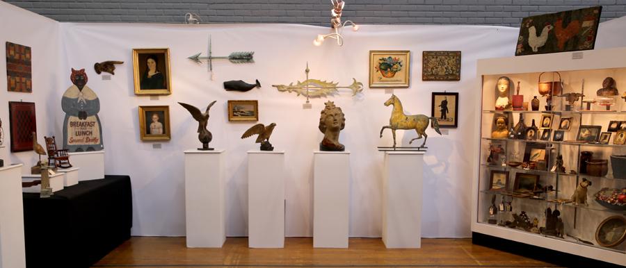 Dennis Raleigh Antiques & Folk Art, Wiscasset, Maine