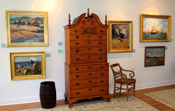 Ordinaire A Selection Of Paintings And Furniture From Eldredu0027s July 14 Summer Market,  August 3u20135 Summer Americana And Paintings, And August 24 Contemporary  Paintings ...