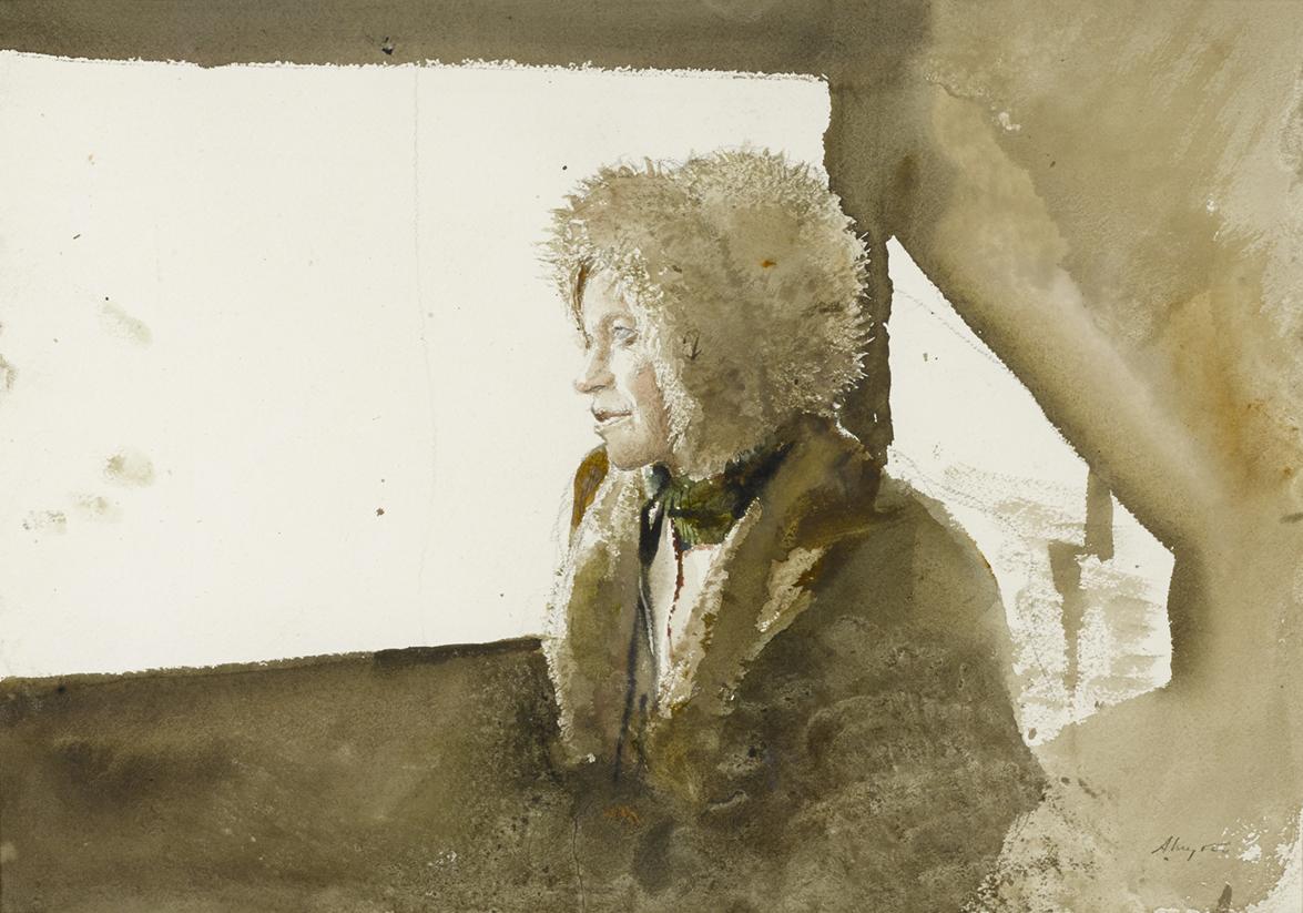 Andrew Wyeth (1917-2009), untitled, finished at $ 137,000. ©PacificSunTradingCompany