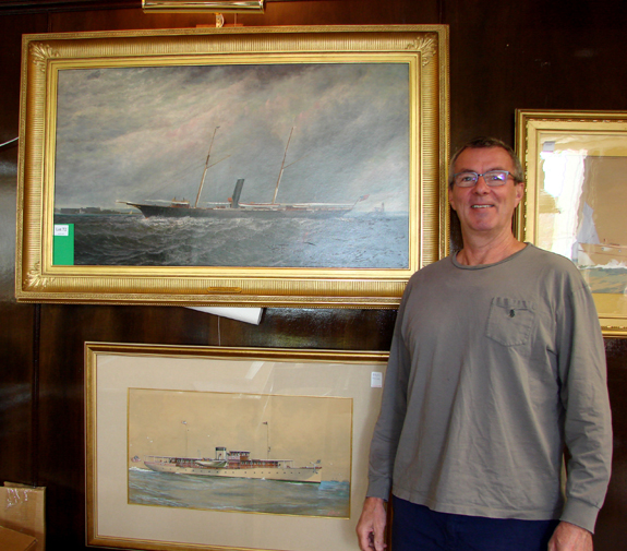 Ship Models, Nautical Paraphernalia Do Well At Boston Harbor