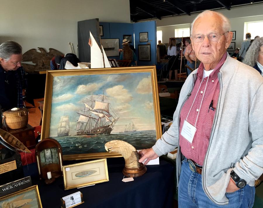 Justin Cobb, Captain's Quarters Antiques, Amherst, Mass.